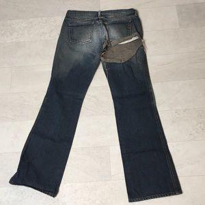 Diesel Jeans Sz 30 Ripped Bootcut Butt Ass Rip